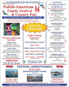 Polish-American Family Festival and Country Fair @ Polish-American Family Festival and Country Fair